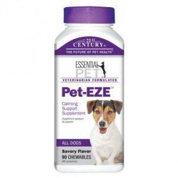 Pet-EZE Анти стрес 90 дъвчащи таблетки за кучета и котки