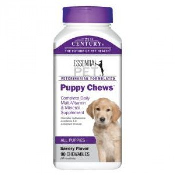 Puppy Chews Витамини за малки кученца 90 дъвчащи таблетки