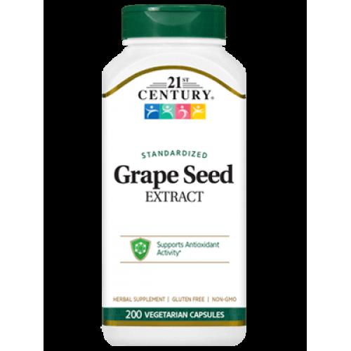 Екстракт от Гроздови Семки 60/200 капсули   21st Century на марката 21st Century Vitamins от вносител и дистрибутор.