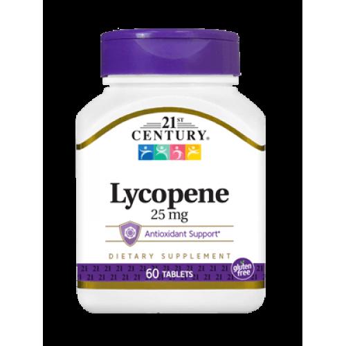 Lycopene Maximum Strenght 25 мг 60 таблетки | 21st Century на марката 21st Century Vitamins от вносител и дистрибутор.