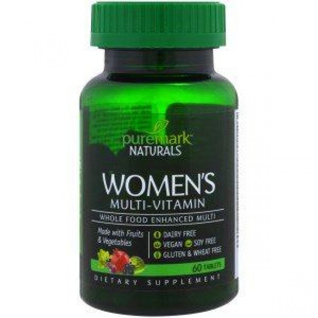 Women`s Multi-vitamin 60 таблетки Puremark Naturals