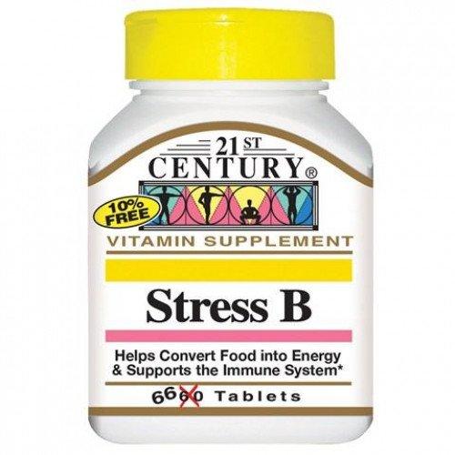 Stress B Комплекс 66 таблетки | 21st Century на марката 21st Century Vitamins от вносител и дистрибутор.