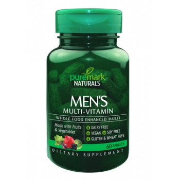 Men's Multi-Vitamin 60 tabs Puremark Naturals